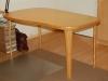 tafel met organische vormen, ronde hoeken